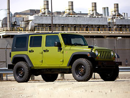 AEV J8 MILSPEC: Armádní Jeep pro civilisty: titulní fotka