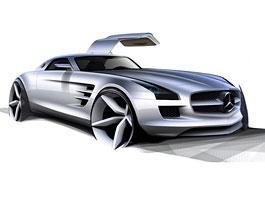 Mercedes-Benz SLS AMG: další odhalení: titulní fotka