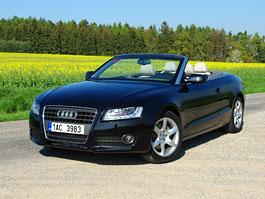 Za volantem: Audi A5 Cabriolet: titulní fotka