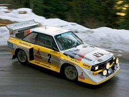 Pod lupou: Audi Quattro - Náskok díky čtyřkolce: titulní fotka
