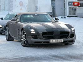 Spy Photos: Mercedes-Benz SLS Cabrio bude už na jaře: titulní fotka