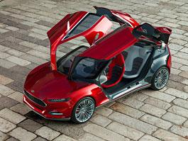 Ford Evos: slíbené kupé od Fordu je tu: titulní fotka
