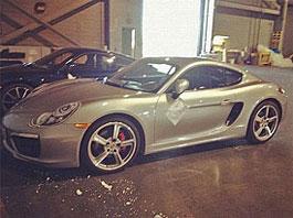 Spy Photos: Porsche Cayman 2013 se předčasně prozradil: titulní fotka