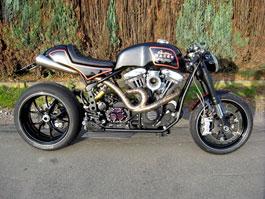 Harley-Davidson XR1200 přestavěn na Cafe Racer: titulní fotka