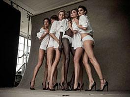 Pirelli kalendář 2014: Supermodelky k 50. výročí: titulní fotka