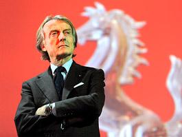 Šéf Ferrari Luca di Montezemolo končí po 23 letech v čele automobilky: titulní fotka