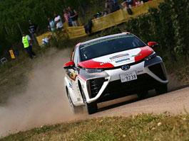 Toyota Mirai se ukázala na letošní ADAC Rallye Deutschland: titulní fotka