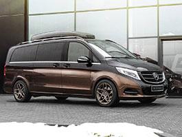 Mercedes-Benz třídy V dostal luxusní interiér od Carlex Design: titulní fotka