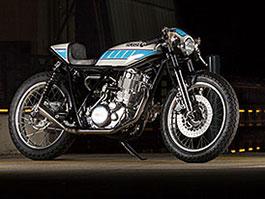 Yamaha SR400: Kompresorový café racer od Kruggera: titulní fotka