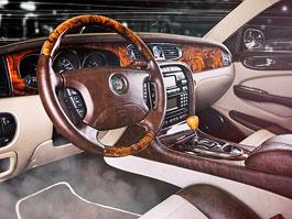Vilner zušlechtil interiér Jaguaru XJ z roku 2005: titulní fotka