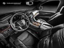 Carlex Design se postaral o stylový interiér pro Cadillac Escalade: titulní fotka
