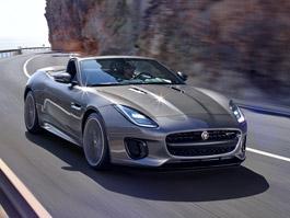 Jaguar uvádí lehce omlazený F-Type s novou verzí 400 Sport (+videa): titulní fotka