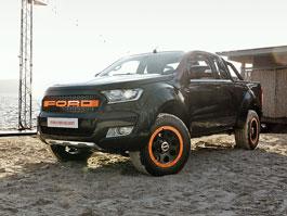 Ford Ranger jako pick-up drsňák: titulní fotka