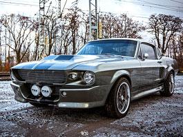 Tento 1967 Shelby GT500 Eleanor v sobě ukrývá Ford Mustang z roku 2012!: titulní fotka