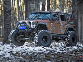 Jeep Wrangler Hunting Unlimited je takový luxusní zrezlík: titulní fotka