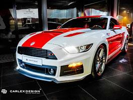 Roush Mustang GT jako Red & White Project od Carlex Design: titulní fotka