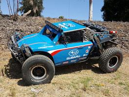 Bugina s motorem Subaru: Hurá do mexické pouště: titulní fotka