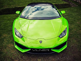 Vilner proměnil Lamborghini Huracán ve smaragdově zelený drahokam: titulní fotka