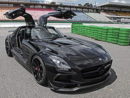 Mercedes-Benz SLS AMG od Inden Design: Nejmodernější racek na světě?: titulní fotka