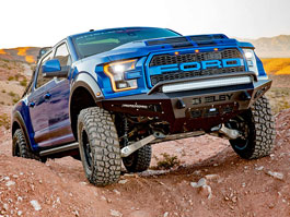 Shelby přiostřil dravý pick-up F-150 a výsledkem je Baja Raptor: titulní fotka