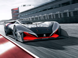 Peugeot L750 R Hybrid Vision GT: Další lev pro virtuální závodní tratě: titulní fotka