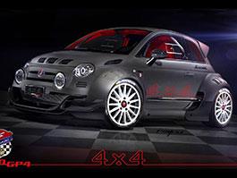 Giannini 350 GP4: Zběsilé cinquecento má motor z Alfy 4C a čtyřkolku: titulní fotka