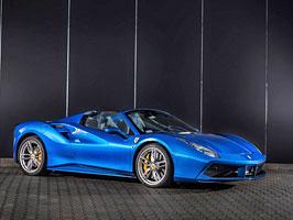 Ferrari 488 Spider by Carlex Design je rapsodie v modrém: titulní fotka