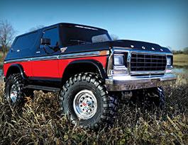 Ford Bronco od Traxxas projede skoro všude a nestojí ani deset tisíc. V korunách!: titulní fotka