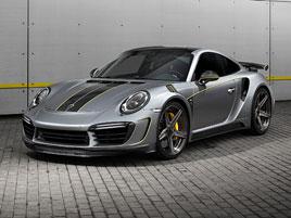 TopCar proměnil Porsche 911 Turbo S v exkluzivní Stinger GTR Felix Ferro: titulní fotka
