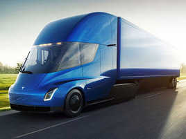 Vizionář, nebo lhář? Elon Musk o dojezdu Tesly Semi: titulní fotka