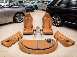 Další důkaz o výjimečnosti Bugatti Veyron. I interiér má cenu slušného domu: titulní fotka