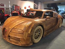 Tenhle Veyron může být váš za necelých 400 tisíc. A podobný nikdo jiný mít určitě nebude: titulní fotka