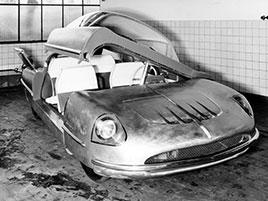 Borgward Traumwagen měl být autem snů. U snu ale zůstalo: titulní fotka