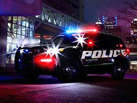 Policisté v USA mají nové nejrychlejší auto. Je to hybridní SUV: titulní fotka
