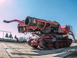 Maďaři kdysi spářili tank se stíhačkou. Ale z důvodů, které byste asi neuhodli: titulní fotka
