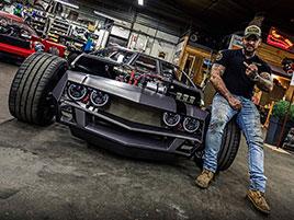 Úpravci udělali z klasického Lamborghini Espada hot rod. Jak se vám líbí?: titulní fotka