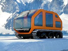 Venturi Antarctica je nové vozidlo pro vědce na Antarktidě. Jezdí na elektřinu: titulní fotka