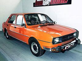 Návrat do socíku. V Německu je na prodej pěkná Škoda 105 s dobovým karavanem: titulní fotka