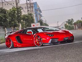 Lamborghini Aventador LP 700-4 Roadster s viz�� z�vodn�ka