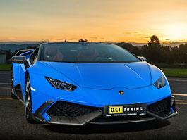 Lamborghini Huracán Spyder od O.CT Tuning může mít přes 800 koní