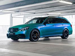Mercedes-Benz E 63 AMG S kombi ohromuje svým vzhledem i výkonem