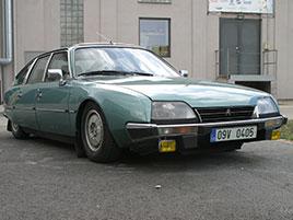 ��dili jsme CX 2400 GTi, podle mnoh�ch posledn� opravdov� Citro�n. Ozna�en� GTi u n�j dost mate