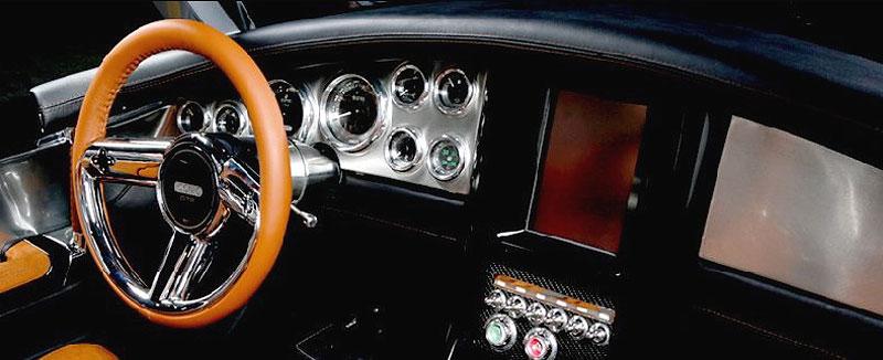 Iconic GTR: roadster, který netrpí nedostatkem výkonu: - fotka 3