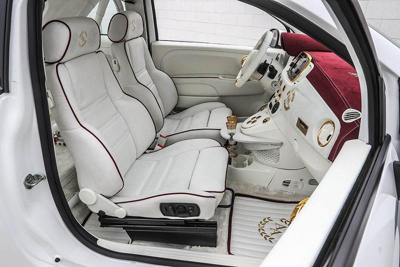 Romeo Ferraris Cinquone Qatar je pěkně nabroušený a luxusní Fiat 500: - fotka 2
