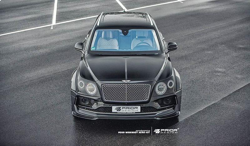 Prior Design nepřehlédnutelně rozšiřuje Bentley Bentayga: - fotka 1