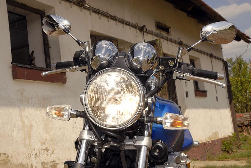 Test - Yamaha XJR1300: profesorská jízda: - fotka 6