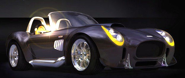 Iconic GTR: roadster, který netrpí nedostatkem výkonu: - fotka 7