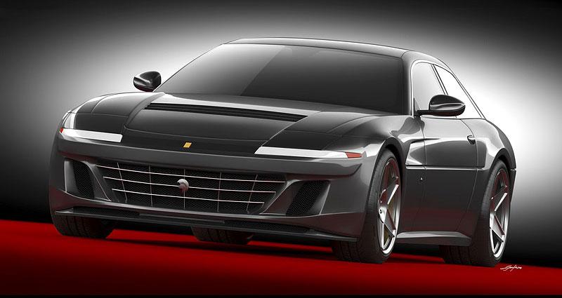 Ares Design chce oživit velké cestovní Ferrari 412 s technikou GTC4 Lusso: - fotka 3