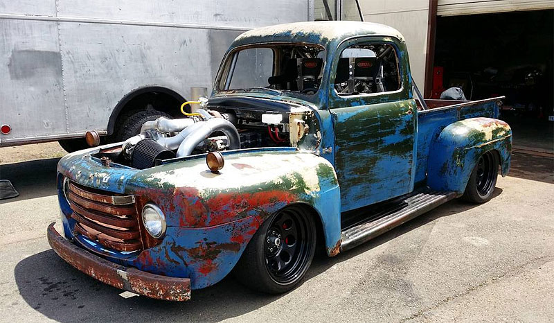 Otřískanej pick-up Ford by vám natrhnul…: - fotka 5