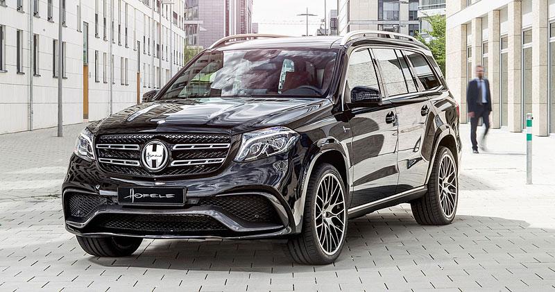 Mercedes-Benz GLS může být díky Hofele-Design ještě luxusnější: - fotka 11